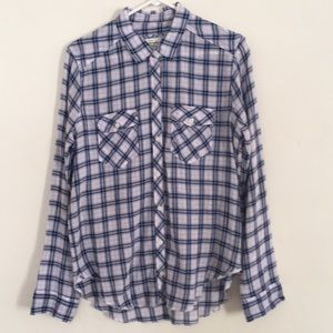 🍃Summer Plaid Shirt